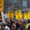 ILWU rallies grain workers locked-out by Mitsui in Vancouver