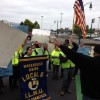 Waste Management recycling workers protest abuse, disrespect & poor conditions at company headquarters