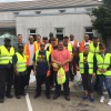 ILWU volunteers join Oakland District 5 clean-up