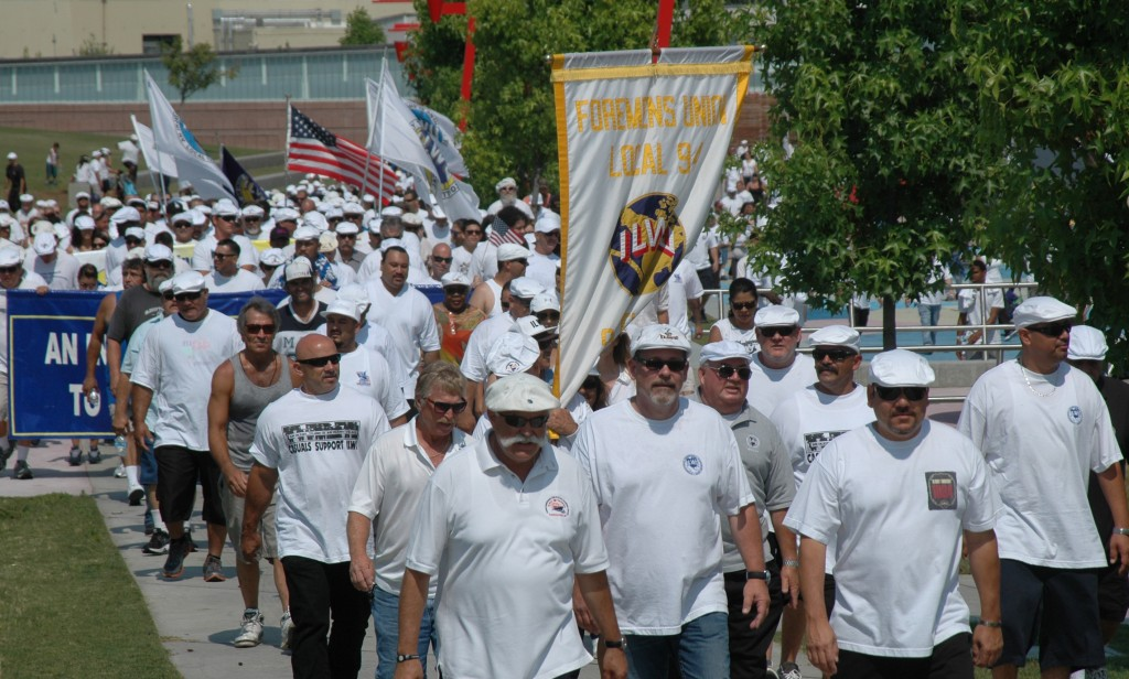 Thousands march to honor Bloody Thursday