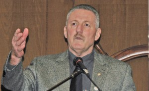 ILWU International President Bob McEllrath