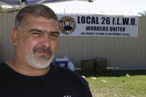 Local 23 member David Gonzalez. Photo by Slobodan Dimitriov