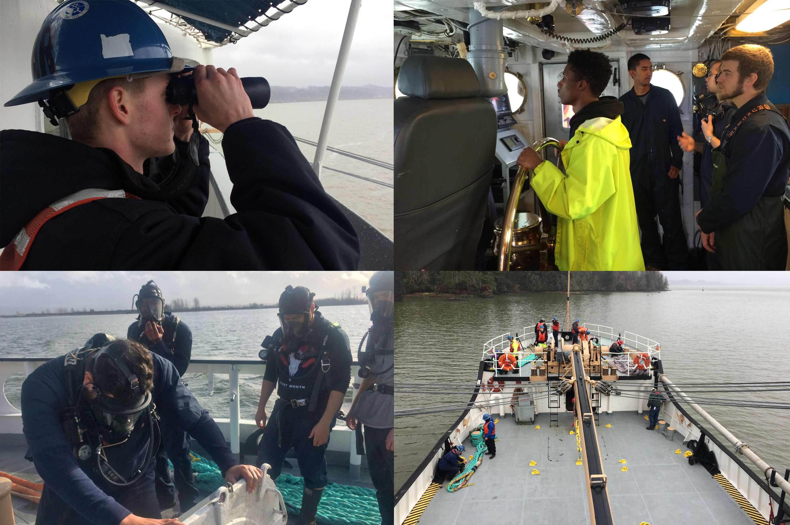 Job Corps' Tongue Point Seamanship Academy is training the